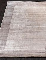 WOOL VISCOSE BORDERED HL 754 - NATURAL-BEIGE-BROWN