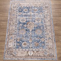 Kalahari  A1060A _BLUE / CREAM